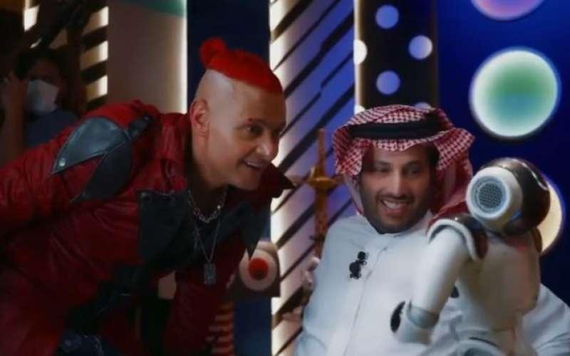 رامز جلال وتركي ال الشيخ