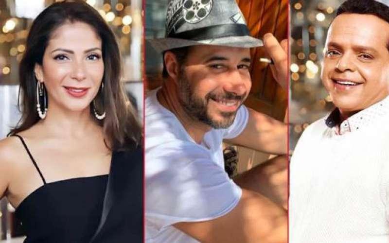 احمد السعدني ومنى زكي ومحمد هنيدي
